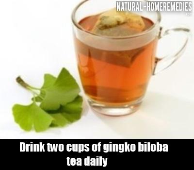 Gingko Biloba Tea