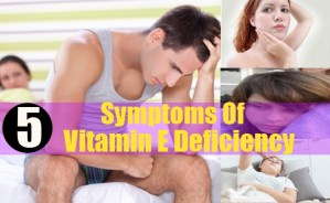 Symptoms Of Vitamin E Deficiency