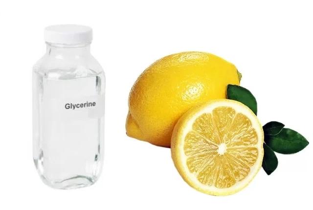 Amalgamated Paste of Lemon Juice and Glycol