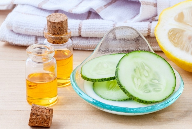 Apple Cider Vinegar And Cucumber Water