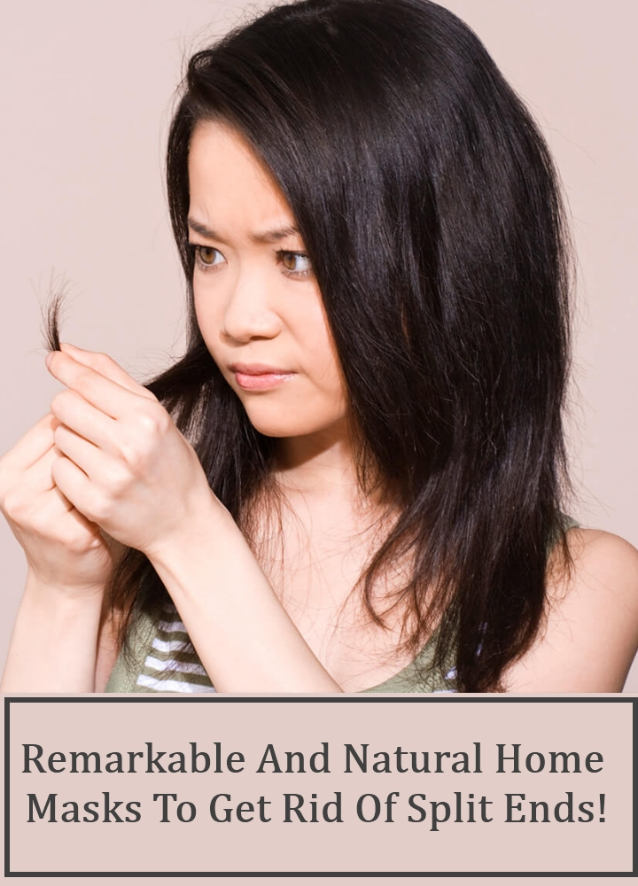 Remarkable And Natural Home Masks To Get Rid Of Split Ends!