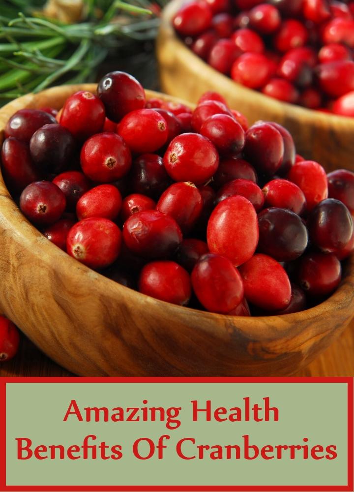 Amazing Health Benefits Of Cranberries