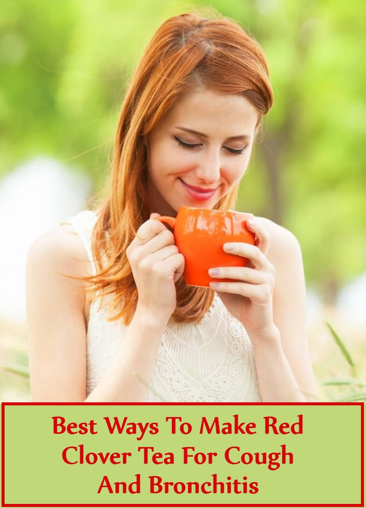 Best Ways To Make Red Clover Tea For Cough And Bronchitis