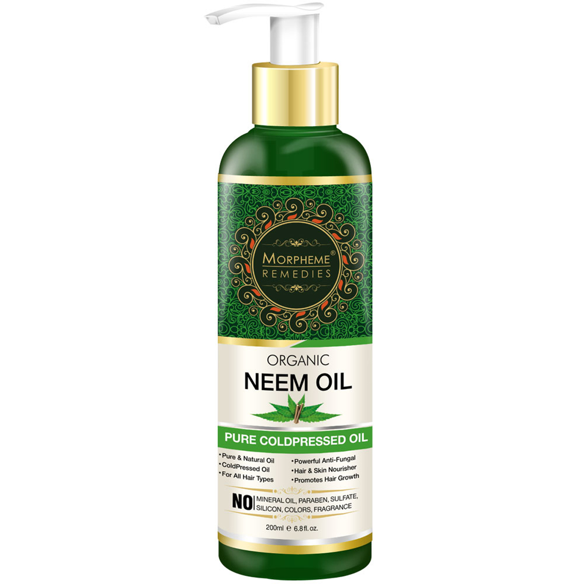 Morpheme Pure Organic Neem Oil Natural Home Remedies