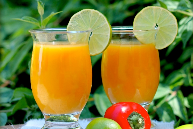 Mango And Lime Juice Pack