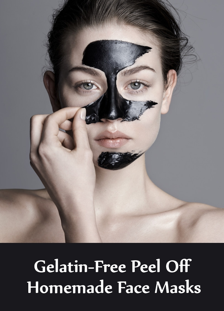 Astounding Gelatin-Free Peel Off Homemade Face Masks For Beautiful And Glossy Skin