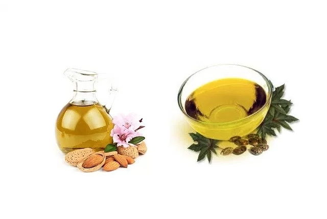 Castor And Almond Oil Massage
