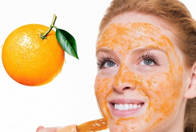 Glycerin And Orange Peel-Off Face Mask