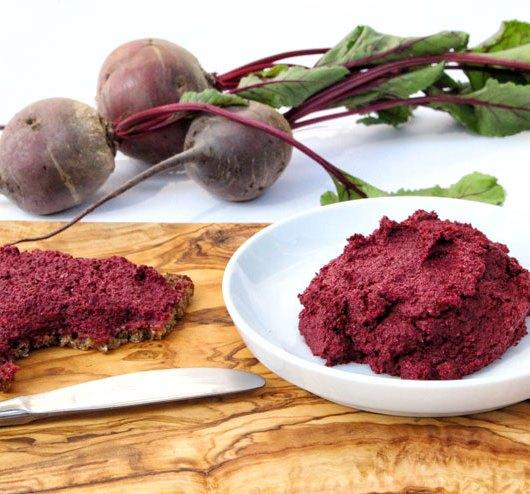 Fermentierte rote Beete Brotaufstrich– einfache Anleitung zum selber fermentieren-Hauptbild