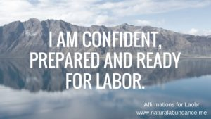affirmations for labor i am confident