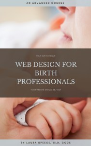 web design, website, online, doula, childbirth classes, training