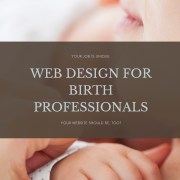 design, website, doulas, childbirth, birth, how to