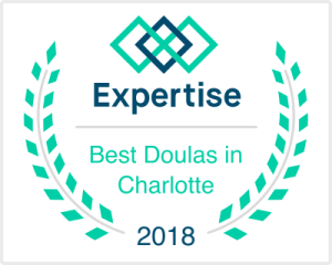 expertise best doulas in charlotte 2018 award