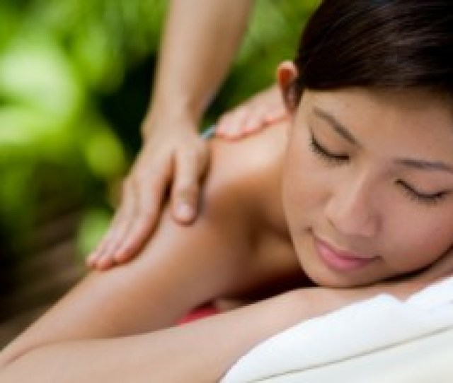 Asian Female Theraputic Spa Massage