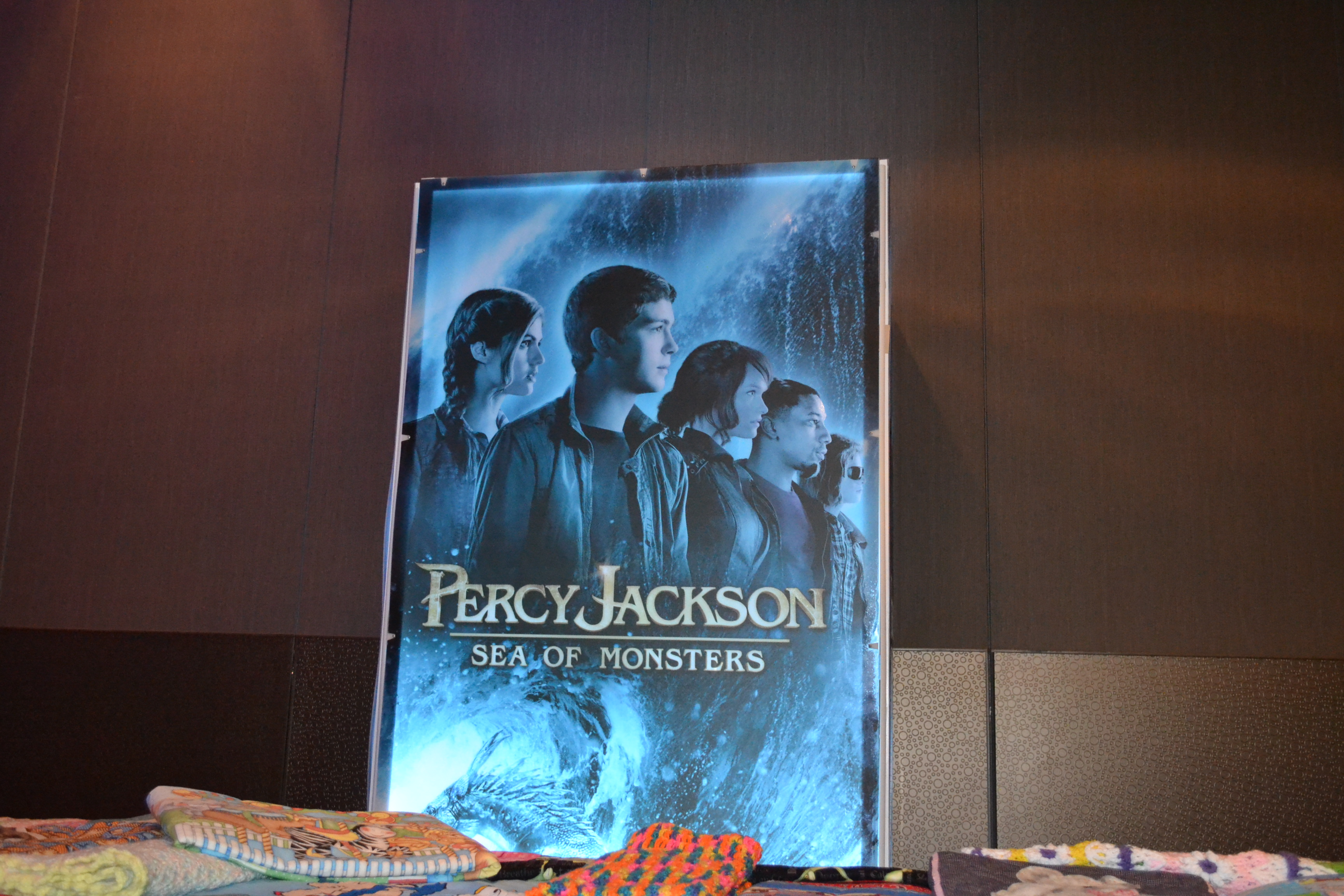 Percy Jackson Sea Of Monsters Charity Event