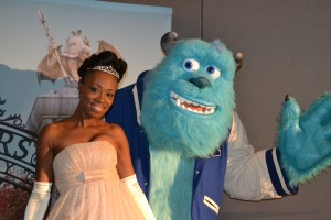 Princess Tiana & Sulley