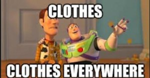 Clothes Everywhere
