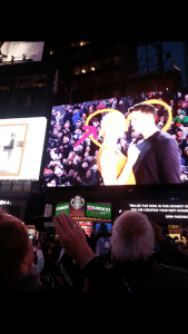 On The Big Screen In New York