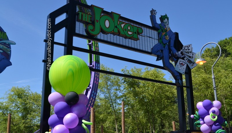 Joker Chaos Coaster, Six Flags Over Georgia