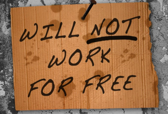 """Will not work for free"" ""Snazzy Cakes LLC"""
