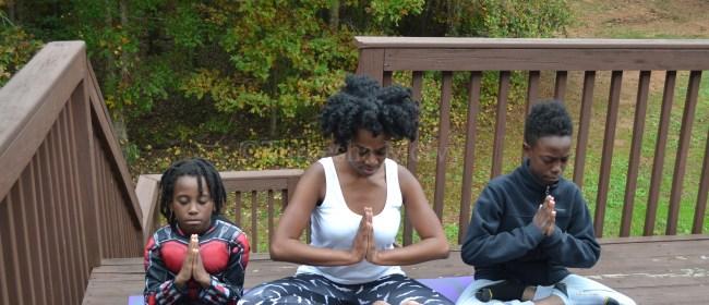 It's A Family Yoga Affair!