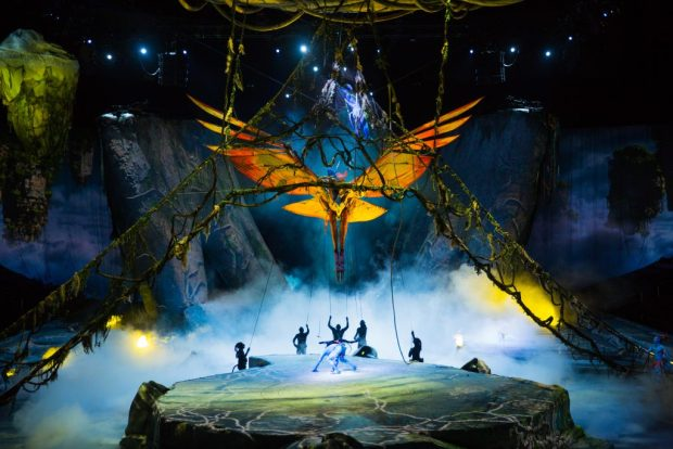 """Cirque de Soleil"" ""Toruk"" ""Family"""
