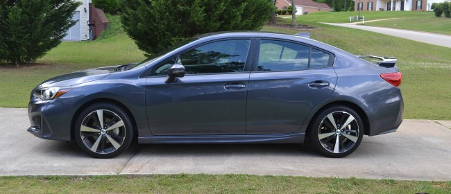 Cruising The ATL In The 2017 Subaru Impreza