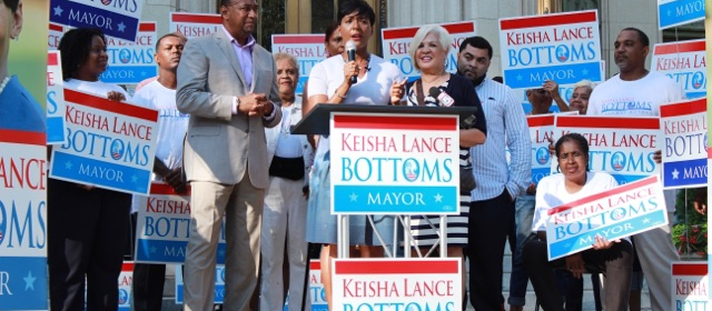 Keisha Lance Bottoms Announces Her Bid To Become Atlanta's 60th Mayor