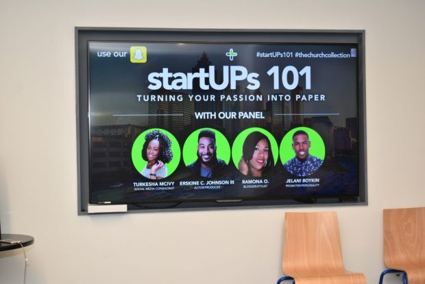"""""""Startups 101"""" """"Passion"""" """"Paper"""" """"The Church Collection"""" """"McIvy Media"""" """"Entrepreneur"""" """"Boss Chick"""""""