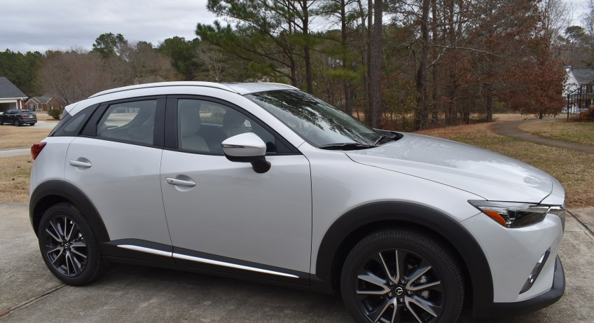 """2018 Mazda CX-3 Grand Touring"" ""Mazda"" ""Car Review"" ""Family Travel"" ""Atlanta"" ""Driveshop"" ""Naturalbabydol"""