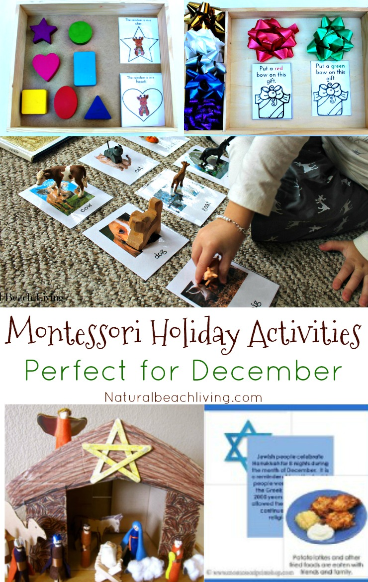 Montessori Holiday Activities Perfect For December