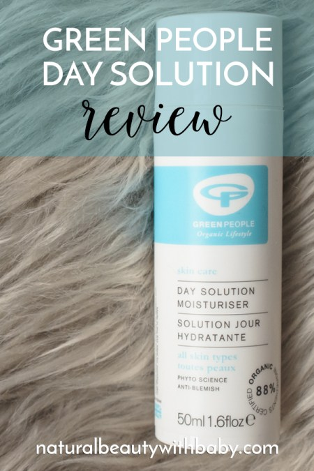 Find out how Green People Day Solution can moisturise your combination skin plus control breakouts in this in-depth review.