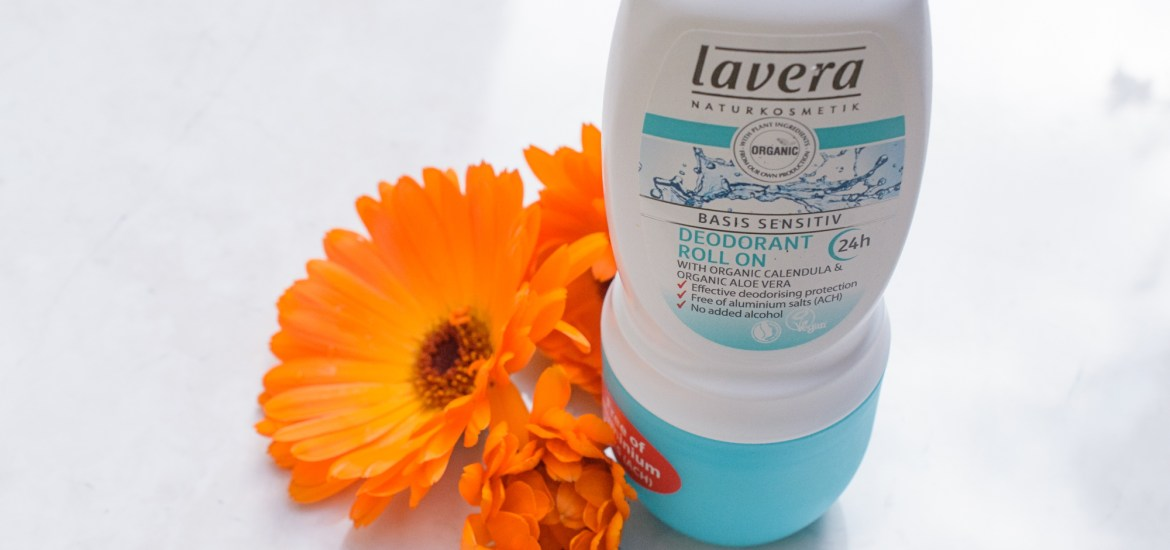 Review of Lavera Basis Sensitiv Roll On Deodorant, an effective aluminium free deodorant with skin loving ingredients.