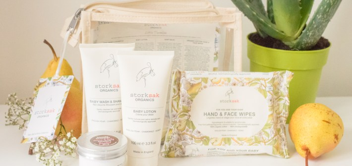 Storksak organics baby skin care