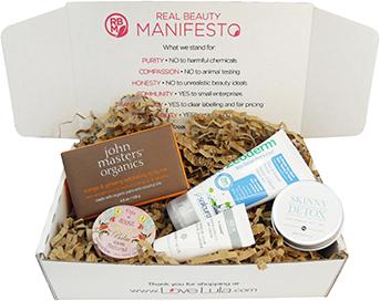 LoveLula natural beauty subscription box