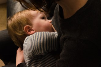 My extended breastfeeding story for Columns by Kari