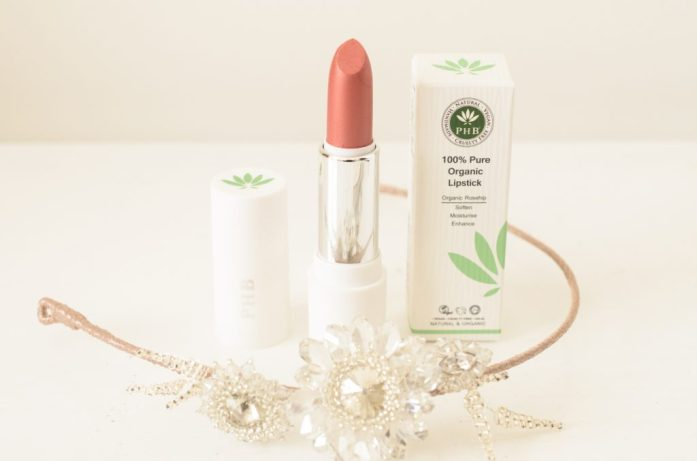 PHB Organic Lipstick in Peach