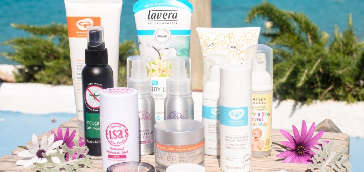 Holiday favourites in natural skincare and beauty
