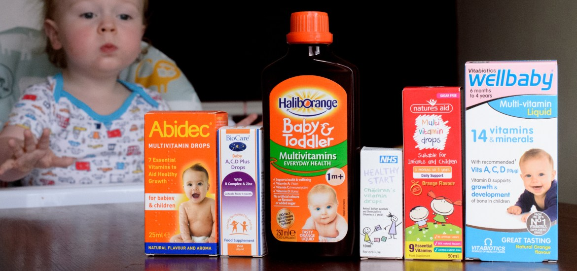 Multivitamins for toddlers