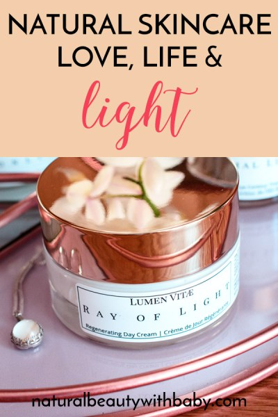 Elegant, effective, and full of light and life. Read my full review of the entire Lumen Vitae natural skincare protocol including day/night and treatments!