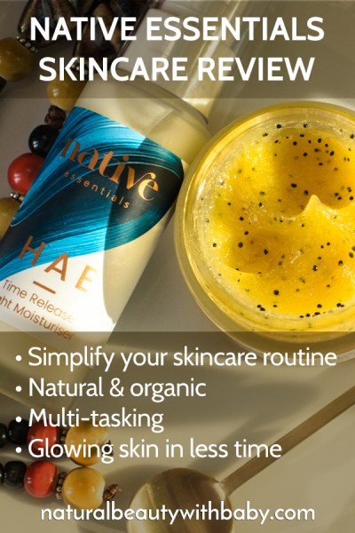 Create fast and effective natural skincare rituals with Native Essentials Skincare. This modular skincare system will give you glowing skin in less time. #skincareroutine #naturalskincare