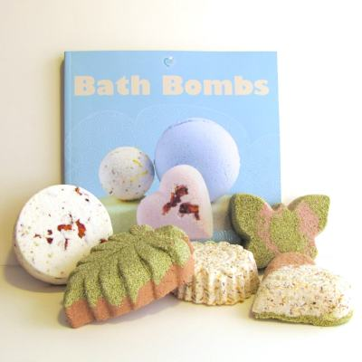 Bombs Away! New Bath Bomb Kits at FromNatureWithLove.com