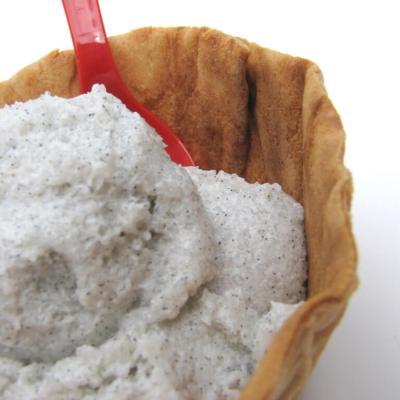 Vanilla Bean Ice Cream Scrub