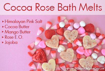 Cocoa Rose Bath Melts