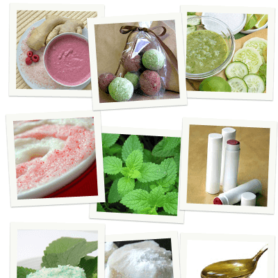Peppermint Recipes for Hair, Body, and Bath