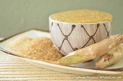 Ginger Honey Pedi-Scrub Recipe