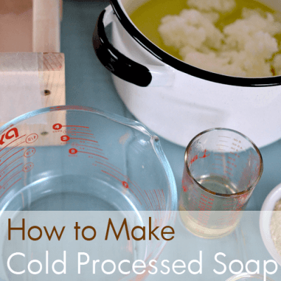 Soap School: How to Make Cold Processed Soap