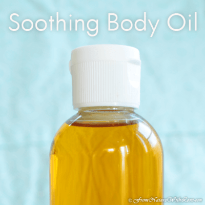 Soothing Body Oil for Expectant Mamas