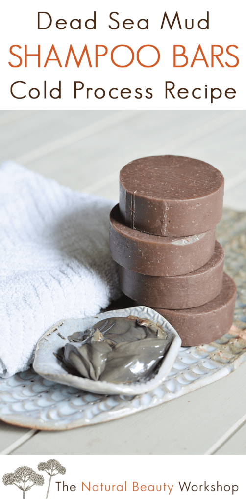 Dead Sea Mud Shampoo Bars - A Cold Process Soap Recipe
