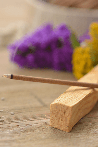 How to Make Incense Sticks Using Essential Oil - An easy tutorial for essential oil incense sticks